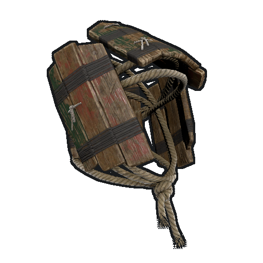 Wood Armor Helmet